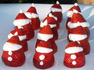 Little Strawberry Santa's