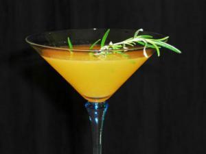Rosemary Citrus Martini