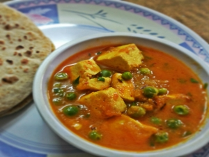 Mouth Watering Matar Paneer
