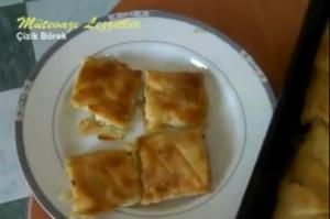 Turkish Cizik Borek
