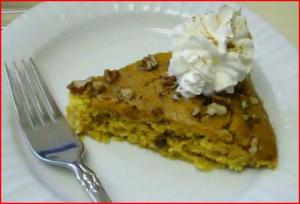 Solar Cooked Pumpkin Cake