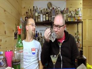 The Last Word Cocktail, Curtis Kisses Crystal Head