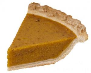 Microwave Pumpkin Pie