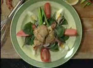 Oyster And Vegetable Salad