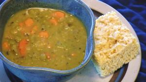 Vegetable and Split Pea Soup