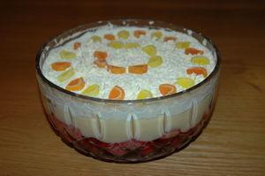 Vanilla Pudding Trifle
