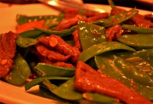 Beef & Snow Peas Chinese Style