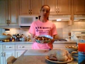 How to Cook Rye Poultry Stuffing with Mushrooms, Lemon & Dill