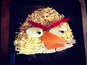 Angry Birds Tortilla Pizza - MYVIRGINKITCHEN