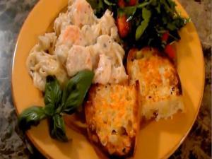 Creamy Seafood Linguini