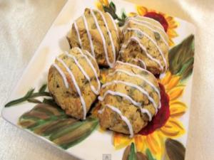 Pumpkin Scones  - The Aubergine Chef