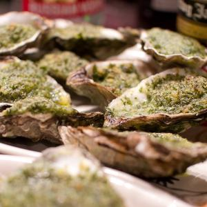 Southern Oysters Rockefeller