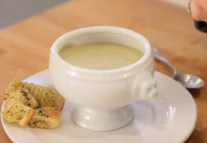 Broccoli Cauliflower Cheddar Soup