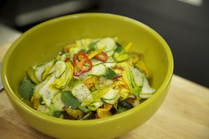 Chef Sisha Ortúzar's Summer Squash Salad