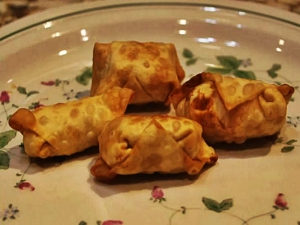 Cheryls Home Cooking / Buffalo Chicken Wontons / Happy 4th of July