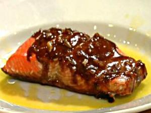 Crispy Skin Salmon with Citrus Sauce