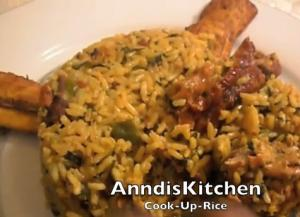 Cook Up Rice with Chicken, Beef, Turkey and Veggies