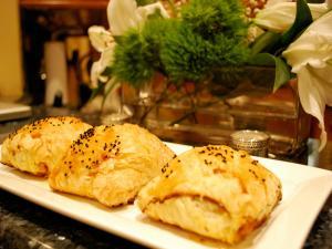 Betty's Lunchtime Turkey Croissant Sandwiches
