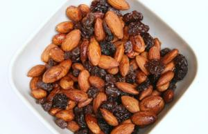 Quick Tamari Almonds