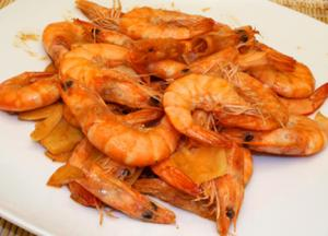 Lemony Shrimp with Butter