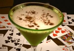 Creamy Cocktail with Lady Luck