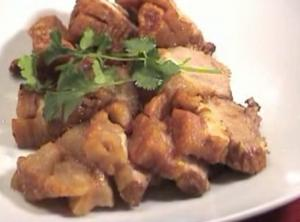 Thai Deep Fried Crispy Pork Belly