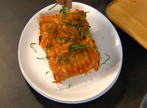 Lasagna Roll-Ups with Salsa Rosa Italiano