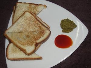 Aloo Toast