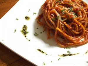 Tuna And Mushroom Spaghetti