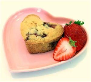 Strawberry Love Muffins