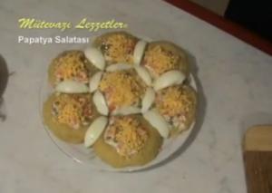 Turkish Papatya Salatası