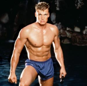 Dolph's ripped body