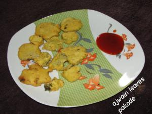 Ajwain Leaves Ke Pakode