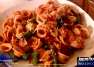 Pasta Putenesca from 'Night of Italiano'