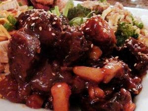 Sweet and Sour Boneless Pork