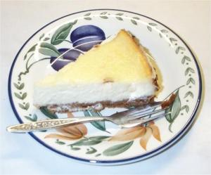 Cinnamon Lemon Cheesecake