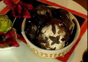 Soft Chocolate Cherry Bread