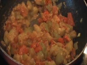 Zucchini Masala / Indian Zucchini