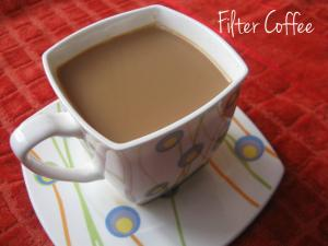 Filter Coffee Using Traditional Filter