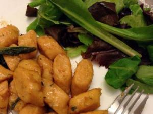 Potato Mushroom Gnocchi