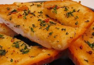 Garlic Bread from the Scratch