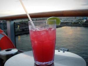 Rosy Lemonade Punch