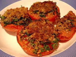 Baked Tomatoes Provencale