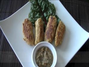 How to Make Chicken Kathi Kabobs / Chicken Kabobs