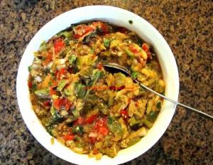 Creole Mixed Vegetables