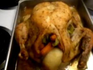 Stuffed Hen