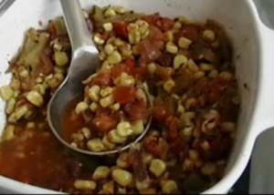 Indian-Style Vegetable Curried Corn