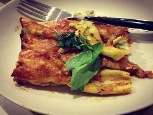 Vegetable Cheese Cannelloni