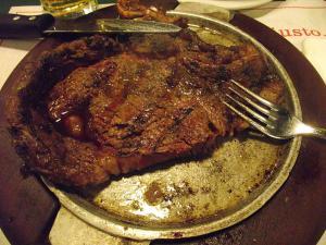 Porterhouse Steak With Special Sauce