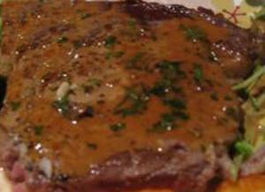 Swordfish Steak Meuniere